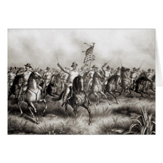 Rough Riders: Coronel Theodore Roosevelt Tarjeta De Felicitación