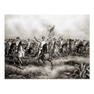 Rough Riders: Coronel Theodore Roosevelt Tarjeta Postal