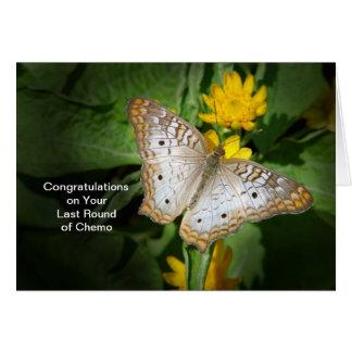 Roung pasado de la tarjeta de la enhorabuena de