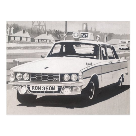 Rover P6 3500 V8 Postal