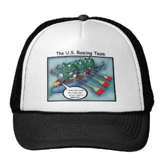 Rowing de los E.E.U.U. (las Huevas-ing combinan la Gorras