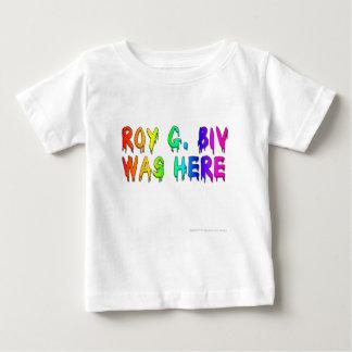 Roy G. Biv Graffiti Camiseta