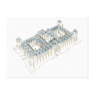 Royal Palace del EL Pardo. Madrid España Impresión En Lona Estirada