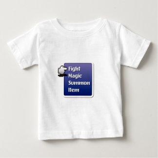 RPG Menu Camiseta De Bebé