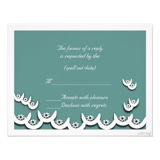 rsvp persa del nsoroma ii (fidelidad) del ne del o invitación personalizada