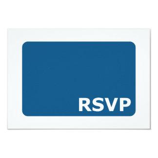RSVP que se casa azul Invitación 8,9 X 12,7 Cm