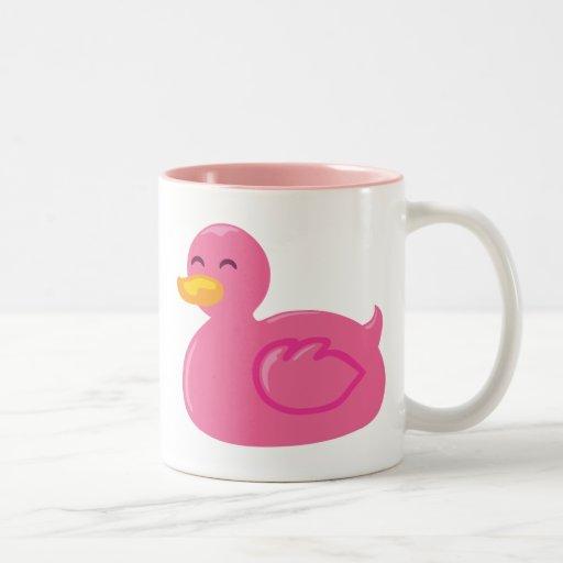 Rubberducky lindo tazas de café