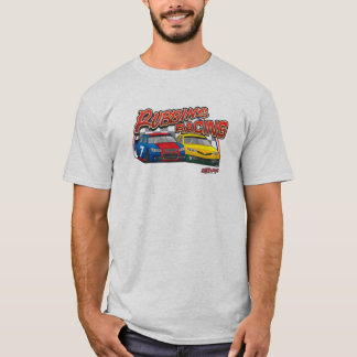 Rubbins que compite con la camisa del stock car