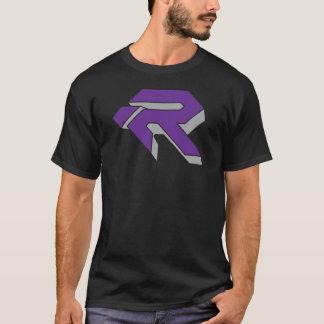 RUBÍ 3D - PÚRPURA y GRIS Camiseta