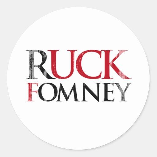 Ruck Fomney Faded.png Pegatina Redonda