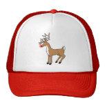 Rudolph el reno sospechado rojo gorra