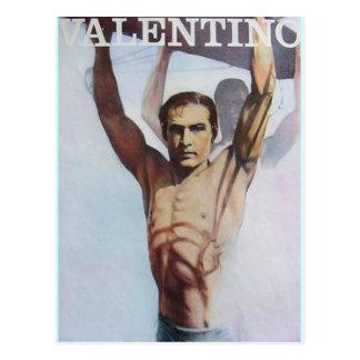 Rudolph Valentino www AriesArtist com Postales