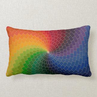 Rueda de color del espectro cojín lumbar