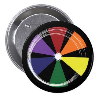 RUEDA de COLOR redonda del ORGULLO del botón