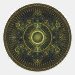 Rueda de Magick de Metatron - pegatina del fractal