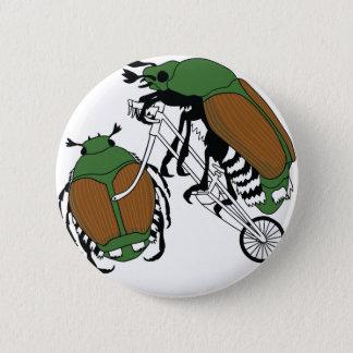 Rueda del escarabajo japonés de la bici del montar chapa redonda de 5 cm