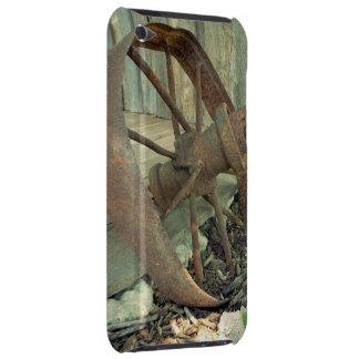 Rueda vieja oxidada iPod Case-Mate carcasas