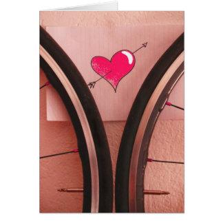 Ruedas de las tarjetas del día de San Valentín