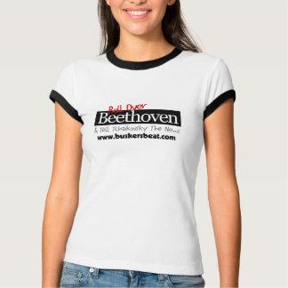 Ruede encima la camiseta de Beethoven