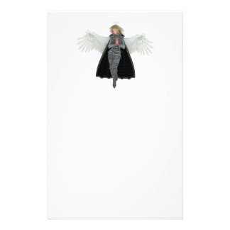 Ruegue el ángel del mensajero papelería de diseño