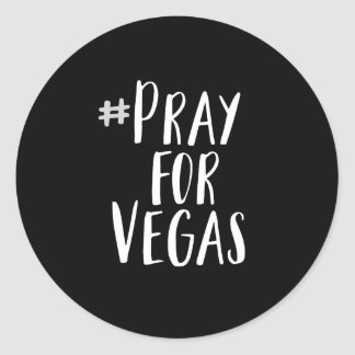 Ruegue para el pegatina de Vegas