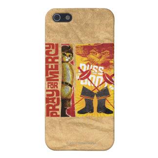Ruegue para la misericordia (roja) iPhone 5 carcasas