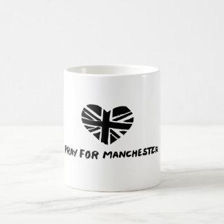 Ruegue para la taza de Manchester