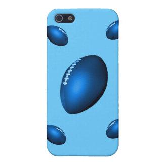 rugbi de los balones de fútbol del nfl del afl del iPhone 5 carcasas