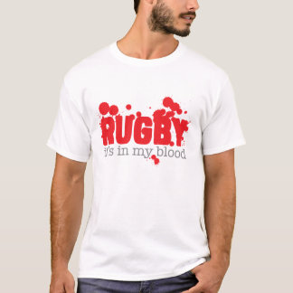 Rugbi - está en mi sangre camiseta
