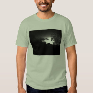 rugido de las tormentas camiseta