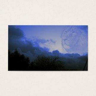 rugido de las tormentas tarjeta de negocios