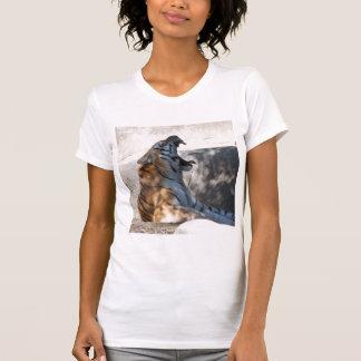 Rugido del tigre camisetas