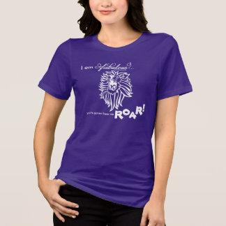 Rugido fabuloso camiseta