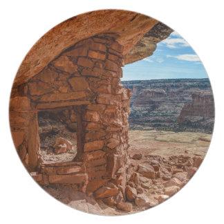 Ruina de Anasazi de la casa de campo de Lewis - Platos