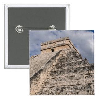 Ruina maya de Chichen Itza en México Chapa Cuadrada