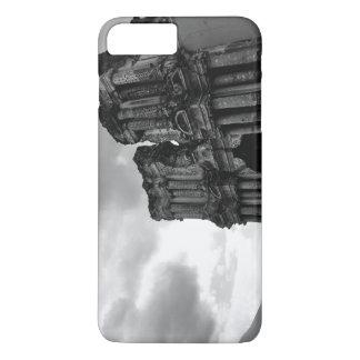 Ruinas blancos y negros de Antigua Guatemala Funda iPhone 7 Plus