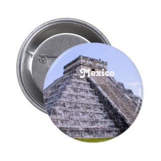 Ruinas de México Pins