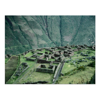 Ruinas del inca, Pisac, Perú Postal