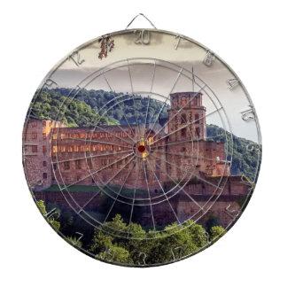 Ruinas famosas del castillo, Heidelberg, Alemania Diana