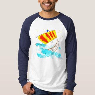 Rumb de Catalunya Nau un itaca Camisetas
