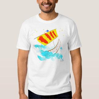 Rumb de Catalunya Nau una camiseta de Ítaca