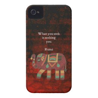 Rumi inspirado qué usted busca cita carcasa para iPhone 4