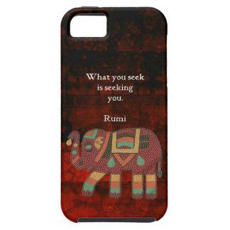 Rumi inspirado qué usted busca cita funda para iPhone SE/5/5s
