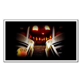 Rupert en la escalera fantasmagórica tarjetas de visita
