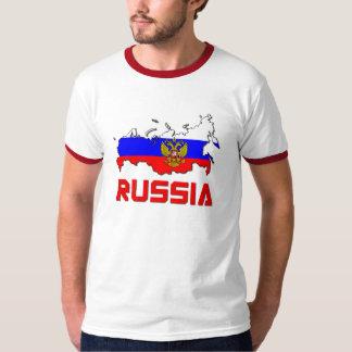 Rusia con el escudo camiseta