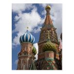 Rusia, Moscú, Plaza Roja. St. Albahaca 4 Postal