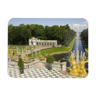Rusia. Petrodvorets. Palacio de Peterhof. Peter Imán De Vinilo