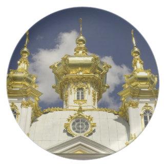 Rusia. Petrodvorets. Palacio de Peterhof. Peter lo Platos Para Fiestas