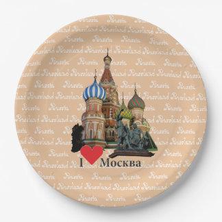 Rusia - Russia Moscú plato