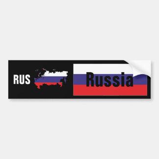 Rusia - Russia pegatina de automóvil